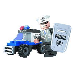 Конструктор Патруль «Полицейский джип», 33 детали, в пакете Ош
