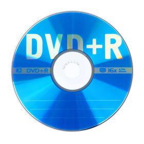 Диск DVD+R Data Standard, 16x, 4.7 Гб, конверт, 1 шт Ош
