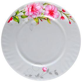 Тарелка пирожковая Доляна «Цветочная мелодия», d=15 см