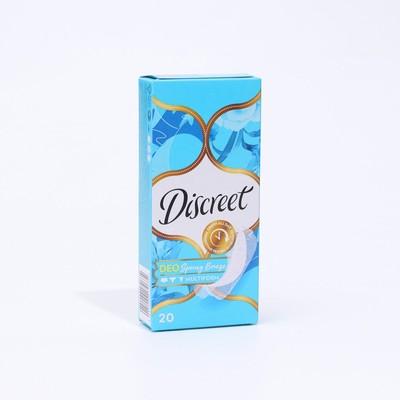Ежедневные прокладки Discreet Deo Spring Breeze Multiform, 20 шт. - Фото 1