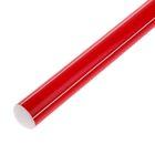 Палка гимнастическая 30 см, цвет: красный