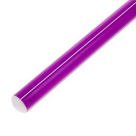 Палка гимнастическая 30 см, цвет: фиолетовый Ош