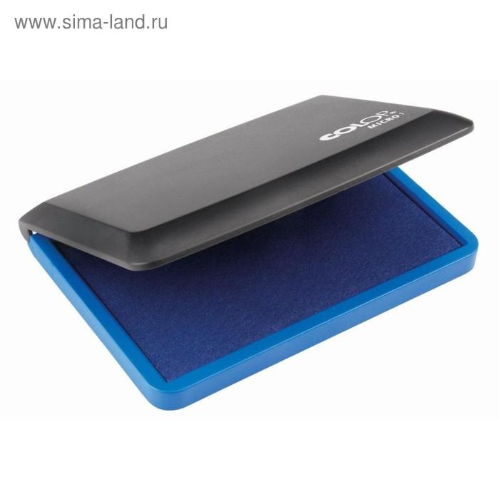 Настольная штемпельная подушка Colop, 50 х 90 мм, синяя