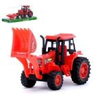 Трактор инерционный «Погрузчик», цвета МИКС