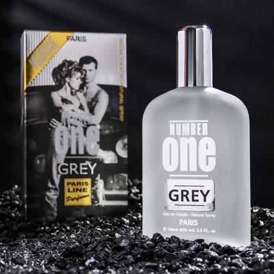 Туалетная вода Number One Grey Intense Perfume, мужская, 100 мл