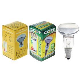 """Лампа накаливания """"Старт"""", R50, Е14, 60 Вт, 230 В"""