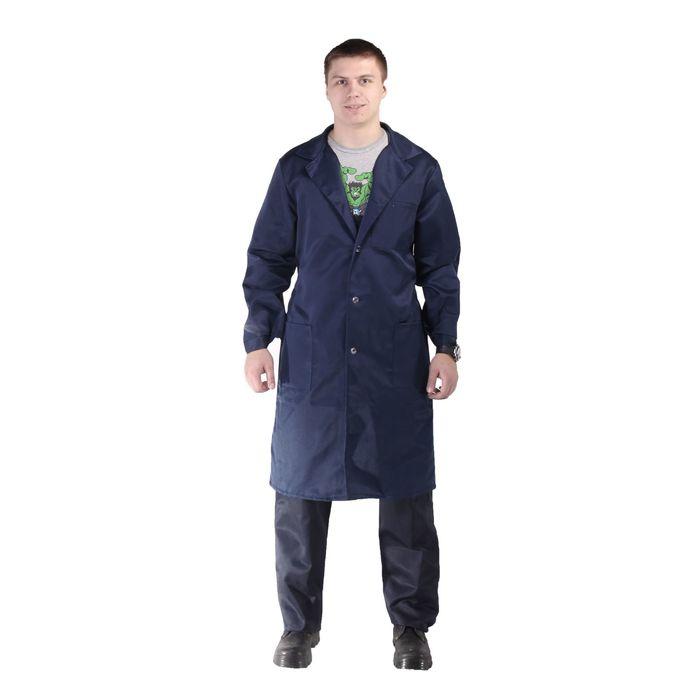Халат рабочий мужской, размер 44-46, рост 170-176 см