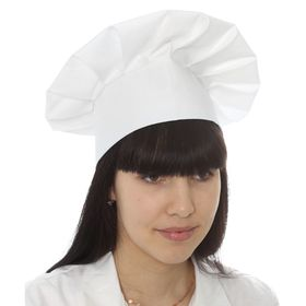 Колпак повара, 58 х 60 см, цвет белый Ош