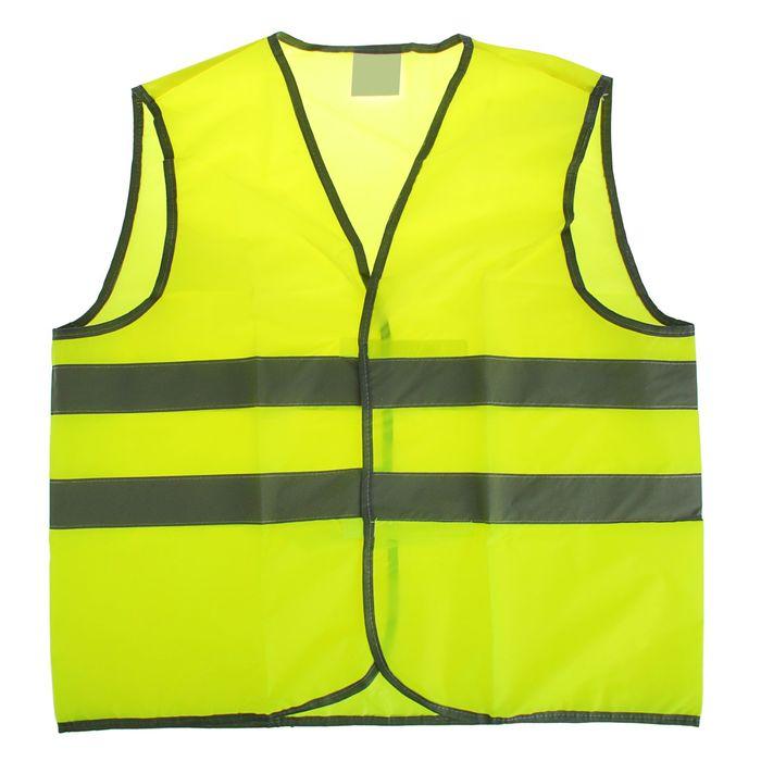 """Жилет сигнальный """"СИБРТЕХ"""", желтый, размер XL"""