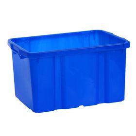 Ящик для хранения «Титан», 60 л, 57×38×31 см, цвет синий