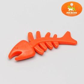 Игрушка жевательная 'Планктон' прозрачная, PP, 12,5 см, микс цветов Ош
