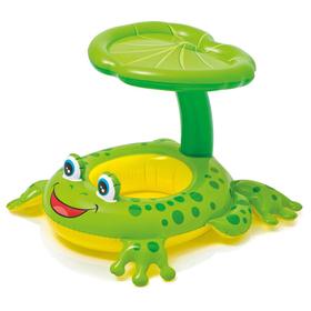 Круг для плавания «Лягушка», с сиденьем, 119 х 79 см, от 1-2 лет, 56584NP INTEX Ош