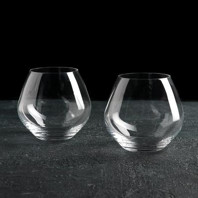 Набор стаканов для виски Bohemia Crystal «Аморосо», 440 мл, 2 шт - Фото 1