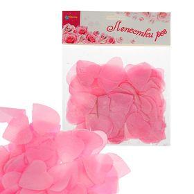 Лепестки в форме сердца, цвет розовый Ош