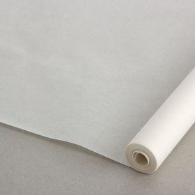 Калька чертёжная под карандаш, прозрачная, ширина 640 мм, в рулоне 10 метров, 52 г/м² Ош