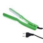 Щипцы-гофре LuazON LF-15, 35 Вт, 160 С, керамические пластины, зелёные