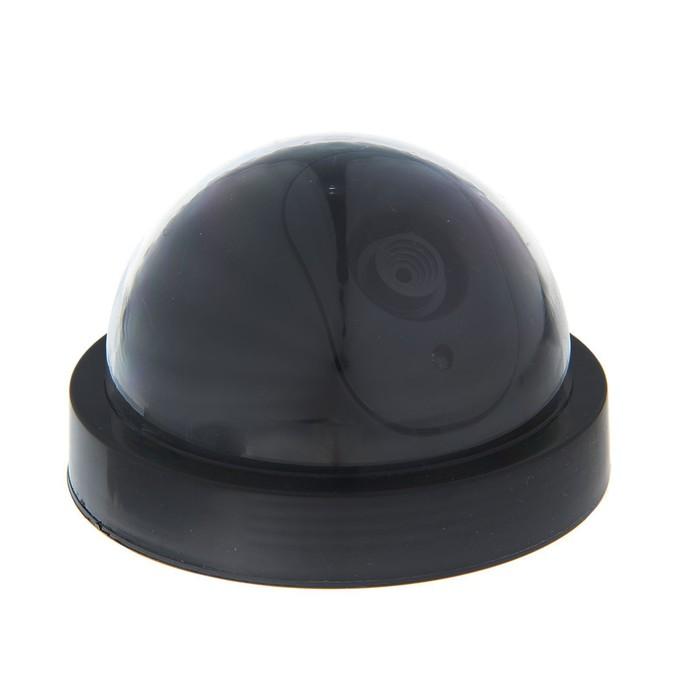Муляж видеокамеры LuazON VM-1, со светодиодным индикатором, 2xАА не в компл, чёрный