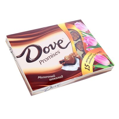 Конфеты Dove Promises молочный шоколад, 120 г