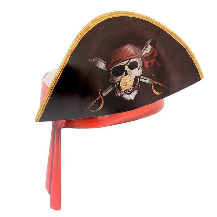 Маска-ободок Шляпа пирата