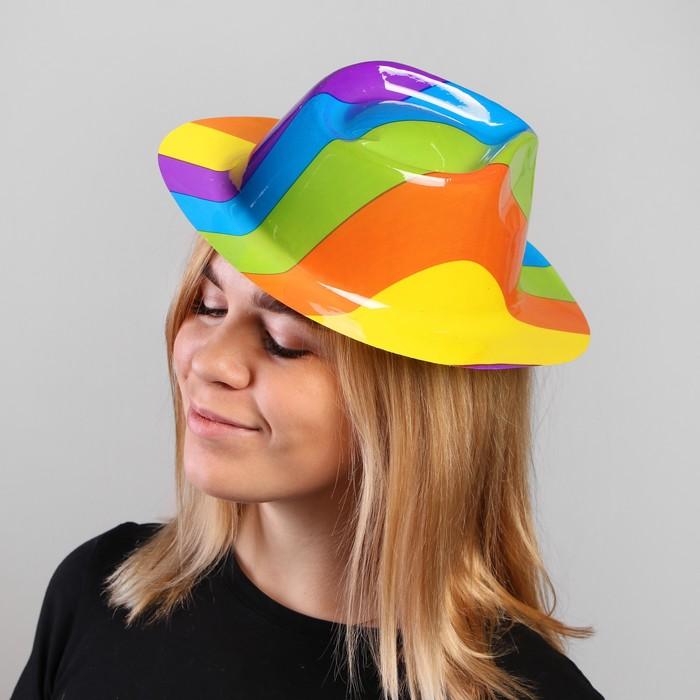 Карнавальная шляпа Цветная