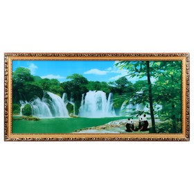 Световая картина 'Панды' звук водопада Ош