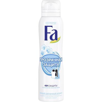 Дезодорант Fa «Прозрачная защита», аэрозоль, 150 мл - Фото 1
