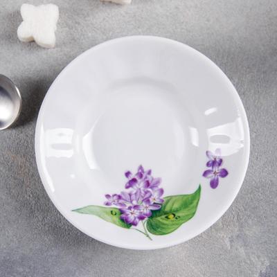 Блюдце «Сирень», 80 мл, d=11 см - Фото 1