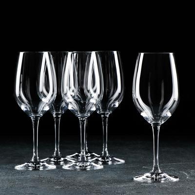 Набор бокалов для вина 380 мл Yarra, 6 шт - Фото 1
