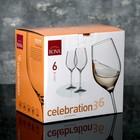Набор бокалов для вина 360 мл Celebration, 6 шт - Фото 3