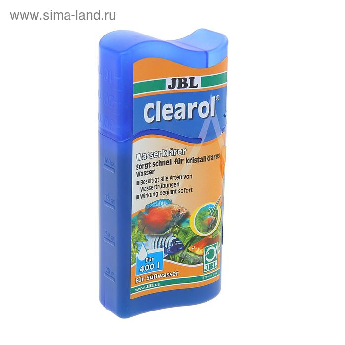 Препарат JBL Clearol  для устранения помутнений воды, 100 мл.