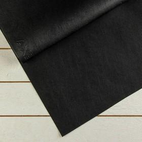 Материал для ландшафтных работ, 12 × 1,6 м, плотность 120, с УФ-стабилизатором, чёрный, «Агротекс» Ош