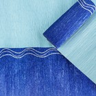 """Бумага креп """"Кант"""", голубой, 0,5 х 2,5 м"""