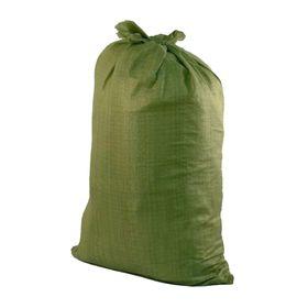 Мешок полипропиленовый 90 х 130 см, для строительного мусора, зеленый, 70 кг Ош