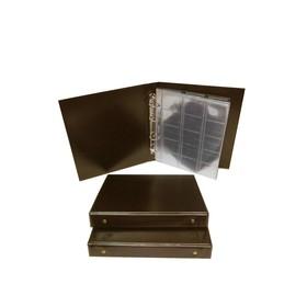 Альбом для монет «Коллекция», 230 х 270 мм, Optima, лист скользящий, микс