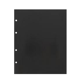 Комплект листов 10 штук, 200 х 250 мм, промежуточный, чёрный Ош