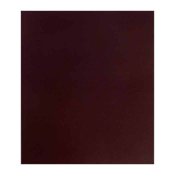 Альбом вертикальный для значков, с листами на ткани, 230 х 270 мм, бумвинил, МИКС