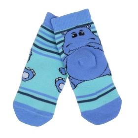 Носки детские махровые, цвет светло-бирюзовый, размер 12-14