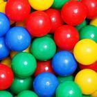 Шарики для сухого бассейна с рисунком, диаметр шара 7,5 см, набор 500 штук, цвет разноцветный - Фото 9