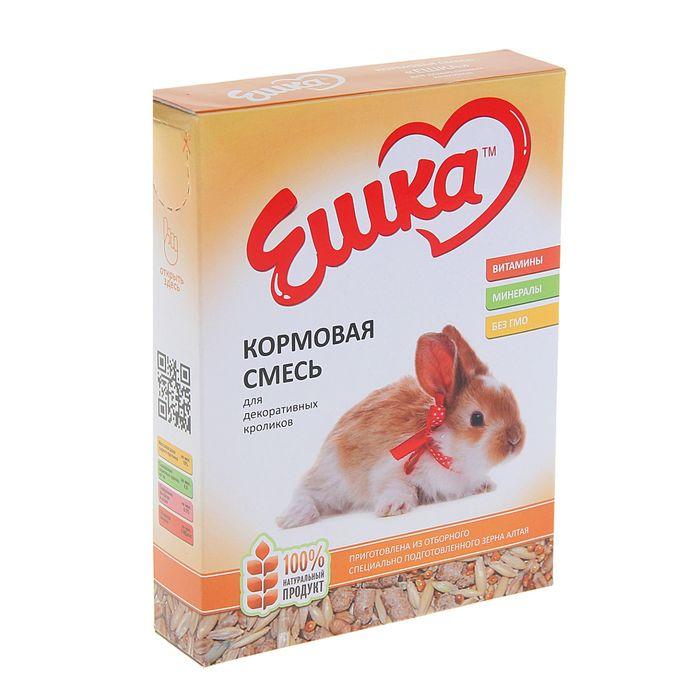 Кормовая смесь «Ешка» для декоративных кроликов, 450 г