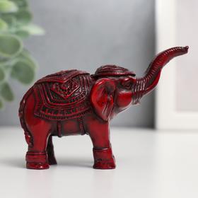 Нэцкэ слон попона мал Ош