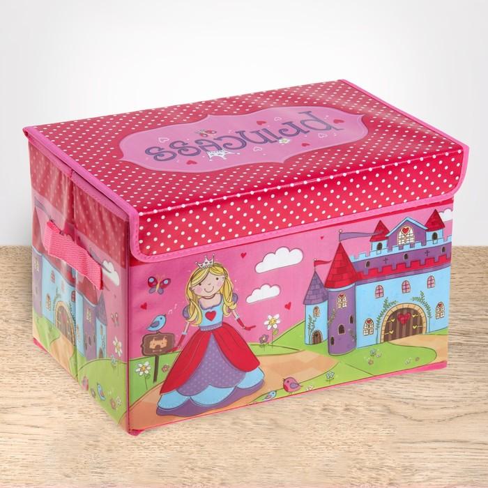 """Короб для хранения """"Принцесса"""""""