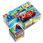 Кубики «Транспорт», 6 штук (картон) - Фото 3