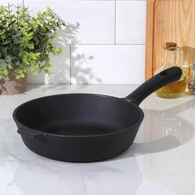 Сковорода 24 см, бакелитовая ручка - Фото 1