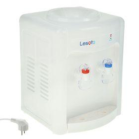 Кулер для воды LESOTO 34 TK, только нагрев, 550 Вт, белый Ош