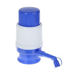 Помпа для воды LESOTO Mini, механическая, под бутыль от 11 до 19 л, голубая Ош