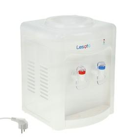 Кулер для воды LESOTO 34 TD, нагрев и охлаждение, 500/68 Вт, белый Ош
