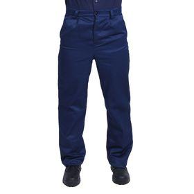 Брюки рабочие, размер 52-54, рост 170-176 см, цвет синий Ош