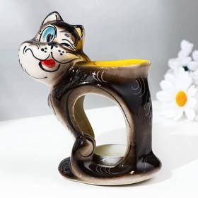 Подсвечник-аромалампа «Хитрый кот», тёмный микс Ош