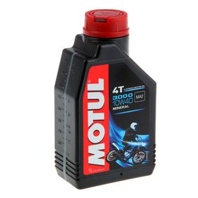 Моторное масло MOTUL 3000 4Т 10W-40, 1 л