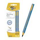 Набор карандашей чернографитных JUMBO, 2 шт., BIC Kids HB, d=4 мм, пластиковые